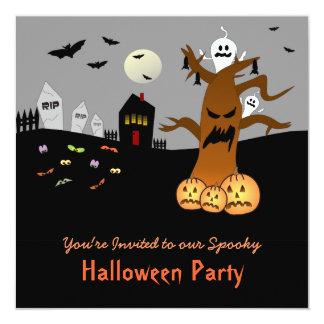 RIP Graveyard Halloween Invitation