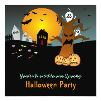 RIP Graveyard Halloween Invitation 2