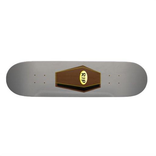 RIP Halloween Coffin of Doom Skateboard