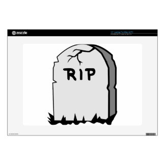 Rip Head stone Skins For Laptops