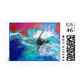 Rip It! Postage Stamp