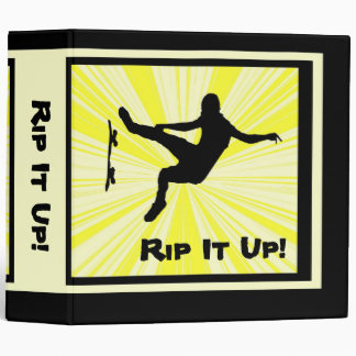 Rip It Up Skateboard Binder