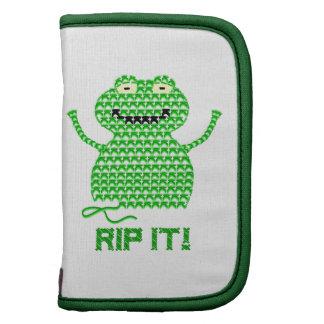 Rip It! Vector Crochet Frog Planners