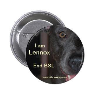 RIP Lennox Pinback Button