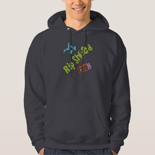 Rip Shred BMX Hooded Pullover