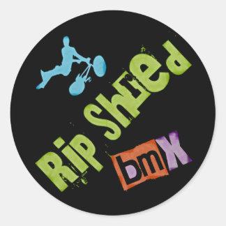 Rip Shred BMX Stickers