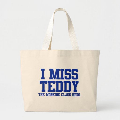 RIP Ted Kennedy Tote Bags