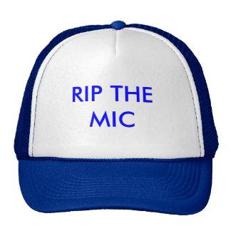 RIP THE MIC TRUCKER HAT