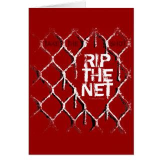 Rip The Net (Hockey) Card