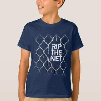 Rip The Net (Hockey) T-Shirt