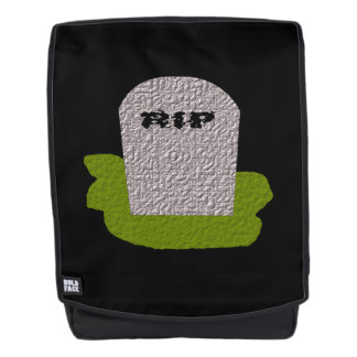 RIP Tombstone Backpack