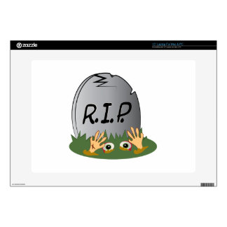 RIP Tombstone Decal For Laptop