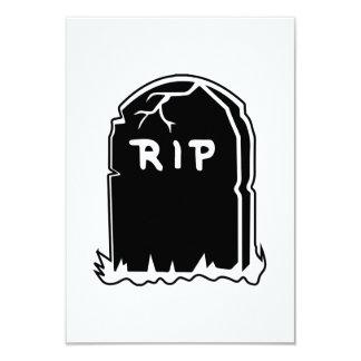 RIP Tombstone Invitations