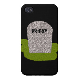 RIP Tombstone  iPhone 4 Cover