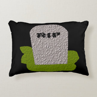 RIP Tombstone Pillow
