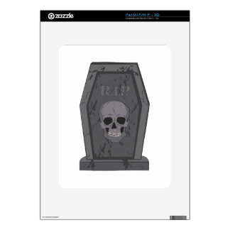 RIP Tombstone Skin For The iPad