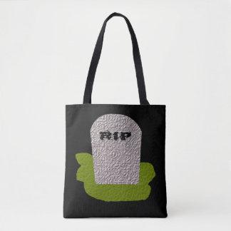 RIP Tombstone Tote Bag