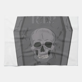 RIP Tombstone Towel