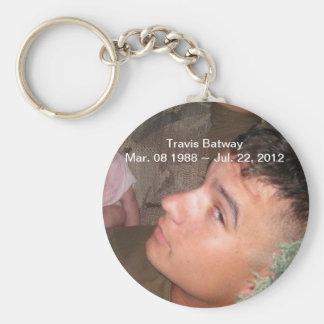 RIP Travis Batway Keychain