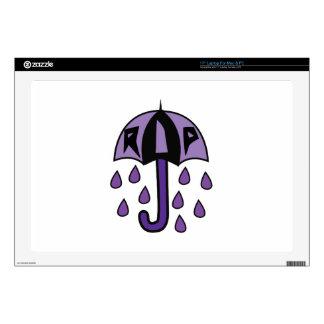 "RIP Umbrella 17"" Laptop Decal"