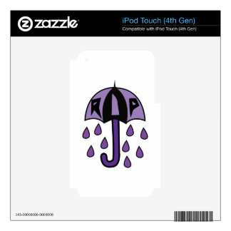 RIP Umbrella iPod Touch 4G Decal