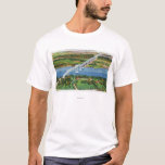 Rip Van Winkle Bridge over Hudson River T-Shirt