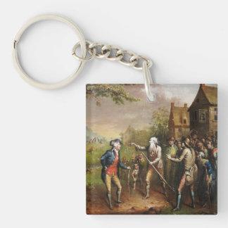Rip Van Winkle in the Village Keychain