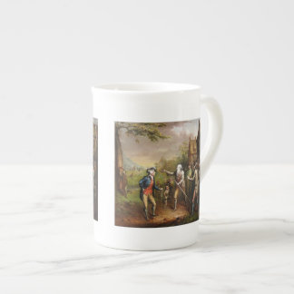 Rip Van Winkle in the Village Tea Cup