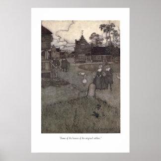 Rip van Winkle Los colonos originales Poster