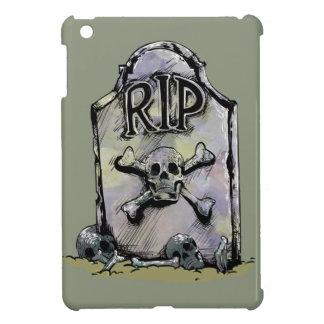 RIP Watercolour Gravestone or Tombstone Cover For The iPad Mini