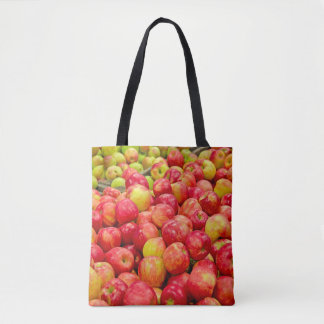 ripe apples tote bag