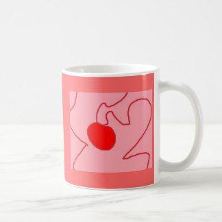 Ripe as a cherry classic white coffee mug