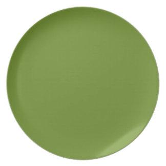 Ripe Asparagus-Colored Plate