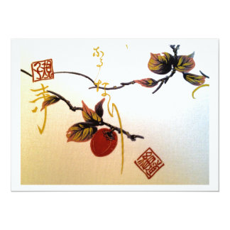 Ripe Cherry on Branch Card