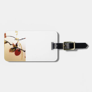 Ripe Cherry on Branch Luggage Tag