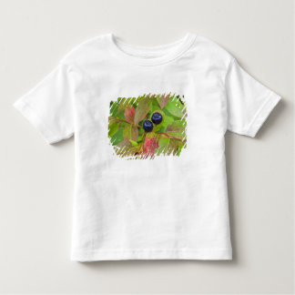 Ripe huckleberries in the Flathead National Toddler T-shirt