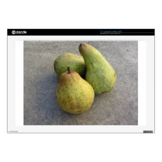 Ripe pears decals for laptops