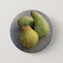 Ripe pears pinback button