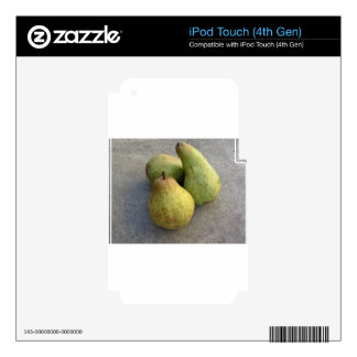 Ripe pears iPod touch 4G skin