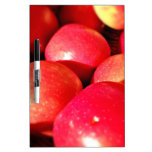 Ripe red apples Dry-Erase board