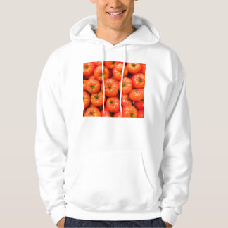 Ripe Red Shiny Tomatoes Hoodie