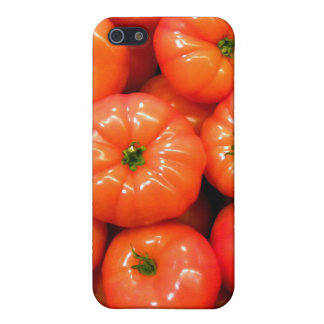 Ripe Red Shiny Tomatoes iPhone SE/5/5s Cover