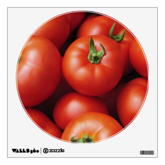 Ripe Tomatoes - Bright Red, Fresh Wall Decal