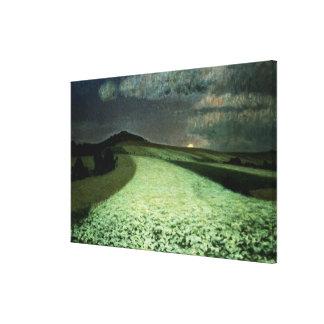 Ripe Wheatfields Canvas Print