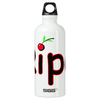 Ripe With Cherry On Top Water Bottle