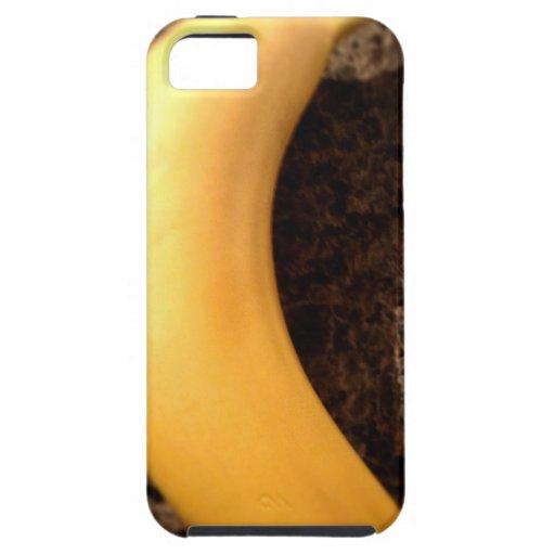 Ripe yellow banana on granite iPhone 5 cover