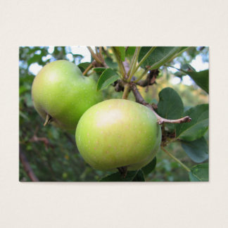Ripening Apples ATC Business Card
