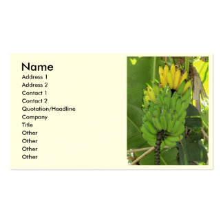 Ripening Bananas Double-Sided Standard Business Cards (Pack Of 100)
