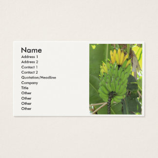 Ripening Bananas Business Card