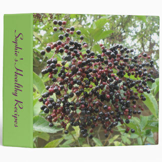 Ripening Elderberries Custom Recipe Binder